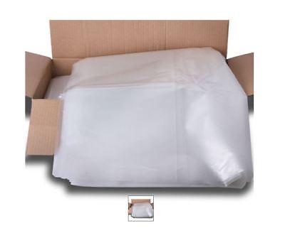 Heavy DUTY PREMIUM CLEAR Refuge Waste Rubbish Sack Liner Bags Wheelie Bins x 200