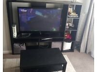 Ikea tv unit and coffee table