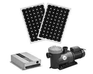 Solar Filter Pump For Swimming Pools Includes Solar Panels Diy Kit Ebay