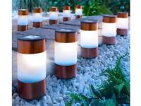 10 Copper Garden Solar lights