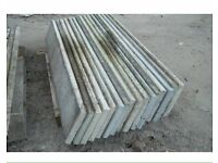 Wanted concrete gravel boards and concrete posts
