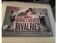 4 Dvd Limited Edition ESPN Boxings Greatest Rivalries (can post)