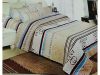Versace Gucci bed covers