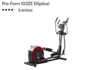 Elliptique PRO-FORM 10.0 ZE Elliptical