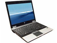 Core i7 HP EliteBook 2540p Laptop. 2.1GHZ, 8GB, 160GB HDD,Win 7. 1 Year Warranty