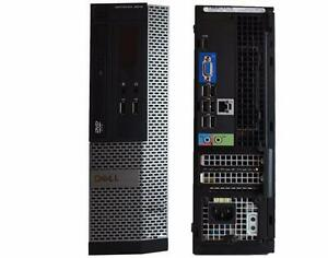 Dell OptiPlex 3010 SFF Desktop Intel Core i5 8GB 500GB HDMI WIN7