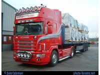 Haulage transport removals