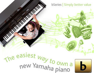 """Brand New Affordable Yamaha """"b Series"""" Pianos Now Available"""