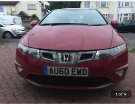 Honda Civic red 1.8 si