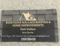 ROOF REPAIRS Call Matt @ Righteous Wallace Roofing