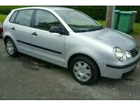 Vw polo 1.9sdi 2005 model, 12 months of mot in clean and tidy condition 150k miles