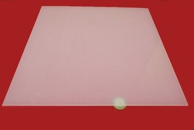 Polypropylene Sheet Natural 18 Thick X 12 X 12 4 Units