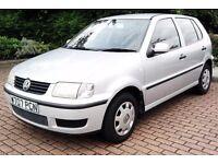Cheap VW Polo 1.0 Long Mot Group 1 Insurance 50 Mpg 5 DOOR Learner Car Corsa Yaris Fiesta clio Micra