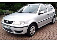 Cheap VW Polo 1.0 Long Mot Group 1 Insurance 50 Mpg 5 DOOR Learner Car Corsa Yaris Fiesta Astra