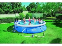 BESTWAY 15FT X 36INCH FAST SET™ ABOVE GROUND SWIMMING POOL