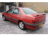 PEUGEOT 405 GTX TURBO DIESEL 1995 F/S/H ONE OFF CLASSIC OWNED 10YRS DRIVES LOVLEY