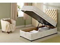 Bolero Ottoman Divan Bed (Single) Less than a year old & mattress included