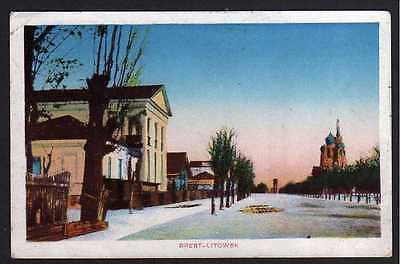 73861 AK Brest-Litowsk 1917 Feldpost