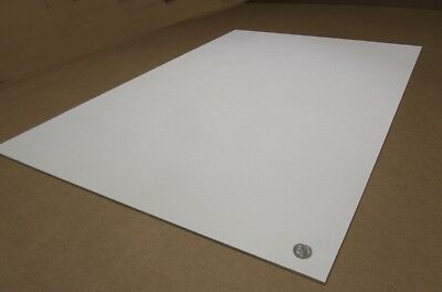 """ABS Sheet  Smooth on Both Sides x 24/"""" x 24/"""" .125/"""" 2 Units Black 1//8/"""""""