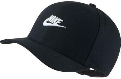 Nike Men's NSW Classic 99' Futura Snapback / Hat Black/White AV6720-010