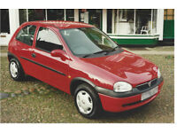 Vauxhall Corsa Parts b and c