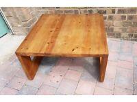 **£45** Vintage Habitat Chunky Solid Wood Coffee Table