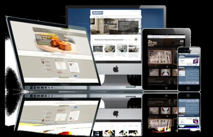 Mobile responsive websites : android iPhone tabs Northcote Darebin Area Preview
