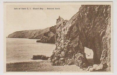 Sark postcard - Dixcart Bay, Natural Arch