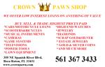 CROWN PAWN