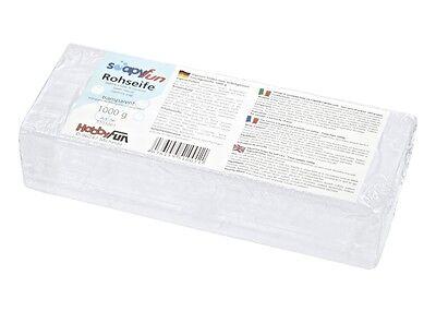 ROHSEIFE zum Seifengießen 1000g transparent Seife Hobby Fun 101001