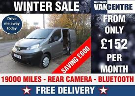NISSAN NV200 SE SWB 1.5 DCI 90 BHP REAR CAMERA WAS £8470 SAVE £600