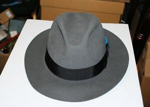 Royal Biltmore Fedora Hat Size 7 3/8