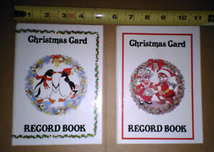 Christmas Card Record Book (Address Book)