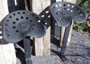 Antique Metal Tractor Seat 25 Dollars Each 2 Available
