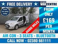 FORD TRANSIT CONNECT 200 TREND SWB AIR CON BLUETOOTH 3 SEATS