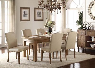Acme Furniture Parker 7 Piece Dining Room Set