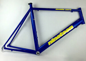 Nineteen Bicycles 61cm, 59cm, 55cm  Double Aero frames