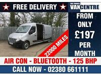RENAULT MASTER LM35 DCI LWB 125 BHP AIR CON BLUE TOOTH
