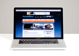 Macbook Pro 15 inch Core i7/8G…... 749$.. Tech Top