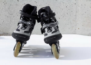 Almost brand new roller blades