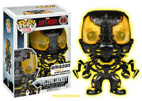 Funko POP Movies: Ant-Man Glow in The Dark Yellow Jacket Action