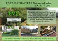 EVG Landscaping - Yard Clearance, Lawn Care, Shrub/Tree Planting