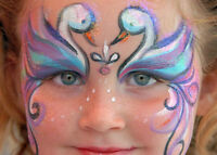 Dainty Cheeks Face Painting
