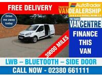 FORD TRANSIT CONNECT 210 L2 H1 LWB BLUETOOTH SIDE DOOR 3 SEATS