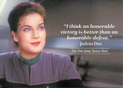 Star Trek Women Of 50th Anniversary Quotable Chase Card Q13 Jadzia Dax