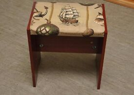 SALE NOW ON!! - Dressing Table Stool (For Upholstery Project) -Can Deliver For £19