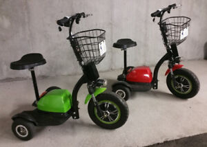 Electric 3 Wheel Scooters, (2) for $ 1000.00 Firm !