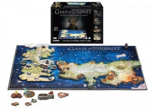 Game Of Thrones 4d Puzzle Westeros & Essos