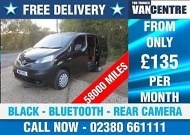 NISSAN NV200 1.5 DCI SE REAR CAMERA BLUETOOTH BLACK WAS £7070 SAVE £300