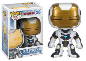 Funko POP! Vaulted Marvel Iron Man 3- Deep Space Suit in store!